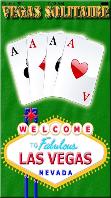 Lucky Play Las Vegas Solitaire of Gold City Classic Blast Real Card Game Screenshot