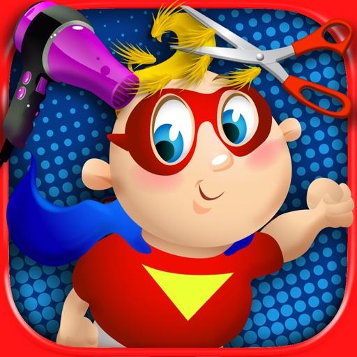 Baby Super Hero Hair Salon - Kids Haircut Games FREE