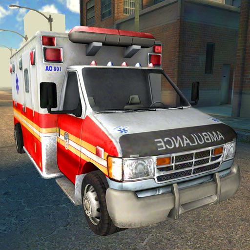 Ambulance City Rush - Emergency Car Racing Games