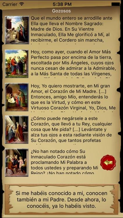 Santo Rosario Católico screenshot-3