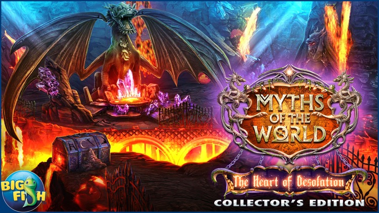 Myths of the World: The Heart of Desolation - A Hidden Object Adventure (Full) screenshot-4