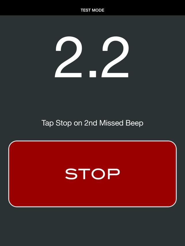 Beep Test Slim On The App Store