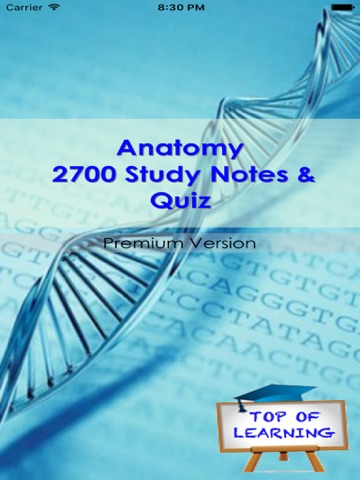 Anatomy & Physiology +2700 Study Notes & Exam Quiz | App Price Drops