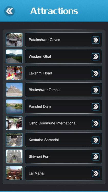 Pune City Offline Travel Guide screenshot-2