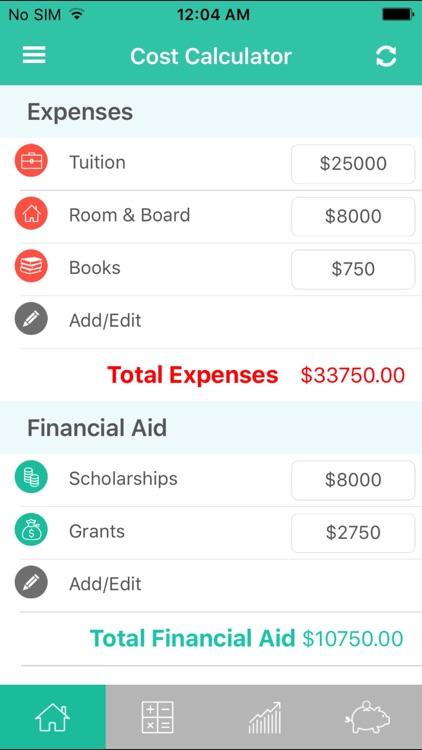College Cost Calculator