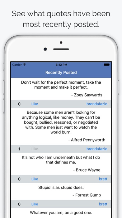 Quoter - Share & Read Quotes screenshot three