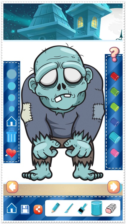 Coloring Book Cute Zombie Colorings Pages - pattern ...
