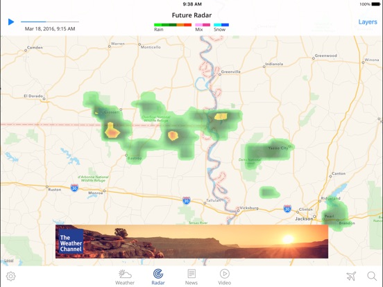 The weather channel app for ipad best local forecast radar map the weather channel app for ipad best local forecast radar map and storm tracking revenue download estimates app store us gumiabroncs Gallery