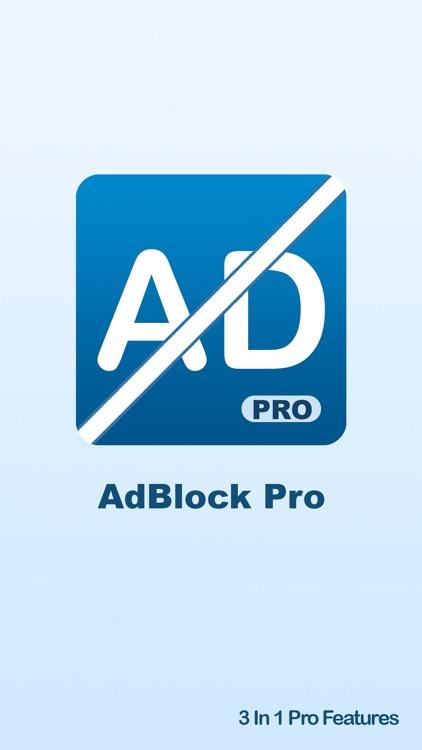 Ad Blocker Pro - Block and Remove Ads for Safari Browser Plus Anti Pop Up Remover
