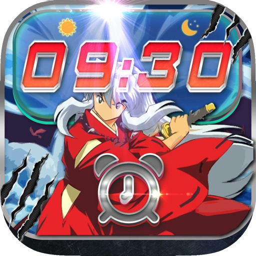 iClock Anime Alarm Clock Inuyasha Wallpapers Frames Pro