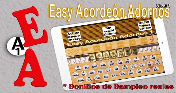 Easy Acordeón Adornos 1