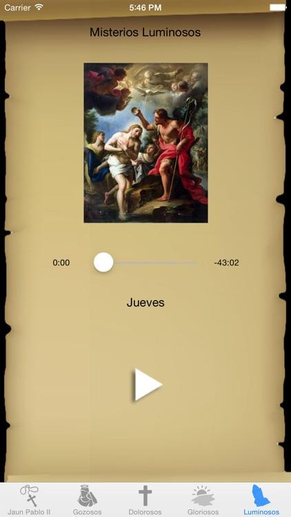 Rosario Interactivo con San Juan Pablo II screenshot-4