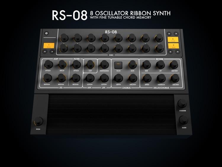 RS-08 | 8 Oscillator Ribbon Synth