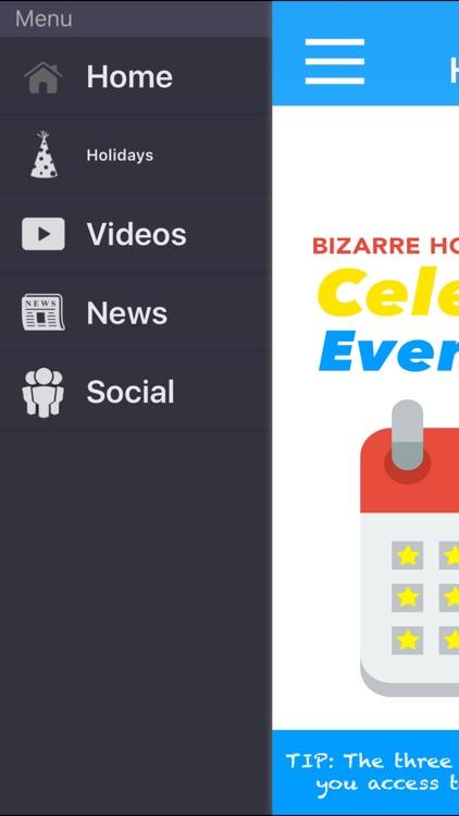 Bizarre Holidays Calendar Celebrate Every Day