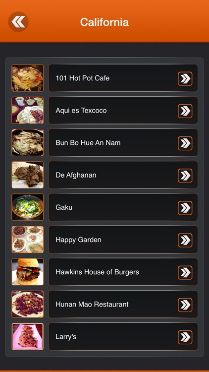 Bizarre Foods America Restaurants screenshot-2