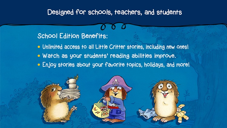 Little Critter Library - School Edition screenshot-3