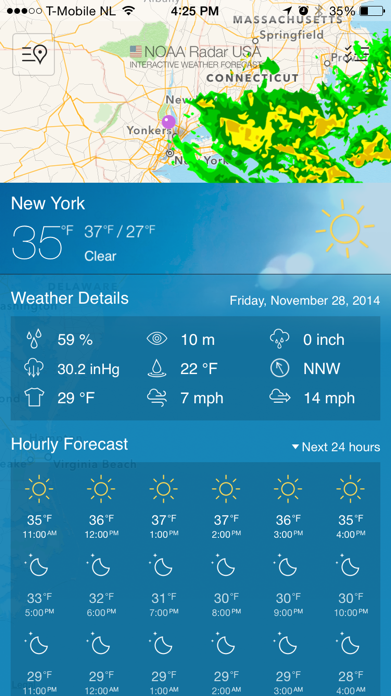 NOAA Radar USA Screenshot