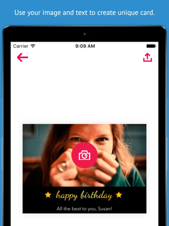 Greeting card maker create birthday cards thank you cards and screenshot 3 for greeting card maker create birthday cards thank you cards m4hsunfo