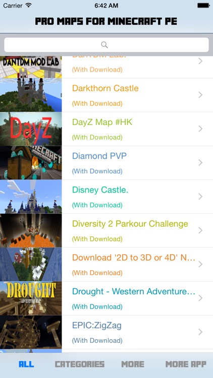 Pro Maps for Minecraft PE (Pocket Edition) screenshot-1