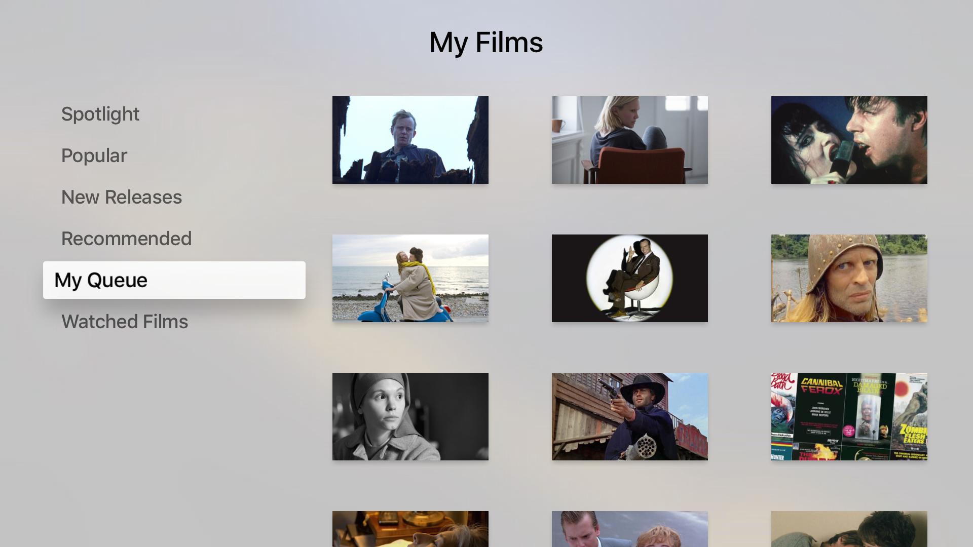 Fandor - Stream 6,000+ award-winning movies screenshot 9