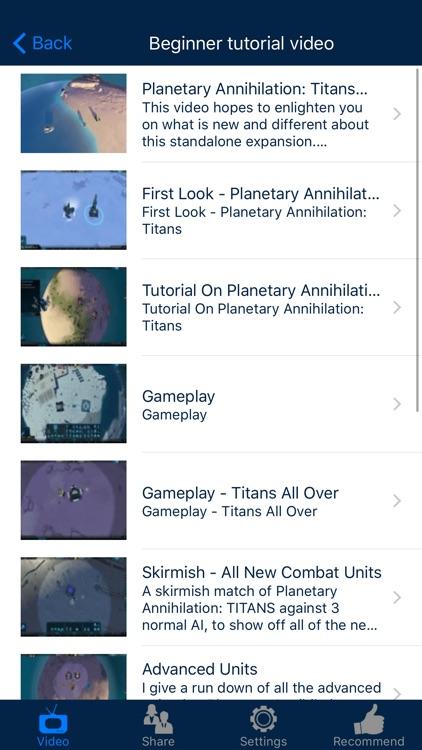 Video Walkthrough for Planetary Annihilation: Titans