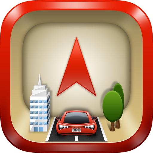 WayBack - GPS locator icon