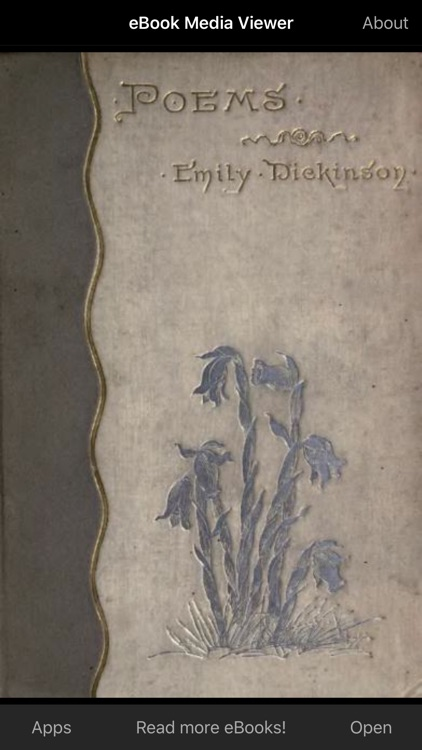 eBook: Poems of Emily Dickinson screenshot-0