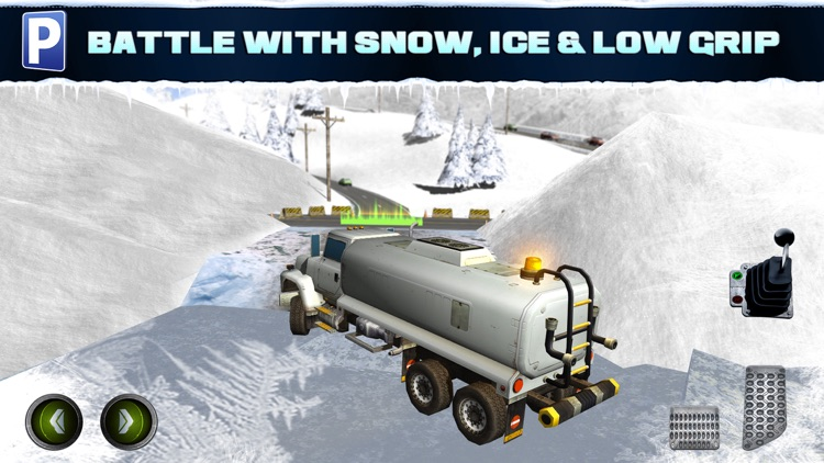 Ice Road Trucker Parking Simulator 2 a Real Monster Truck Car Park Racing Game screenshot-3