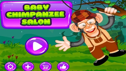 Baby Chimpanzee Salon screenshot one