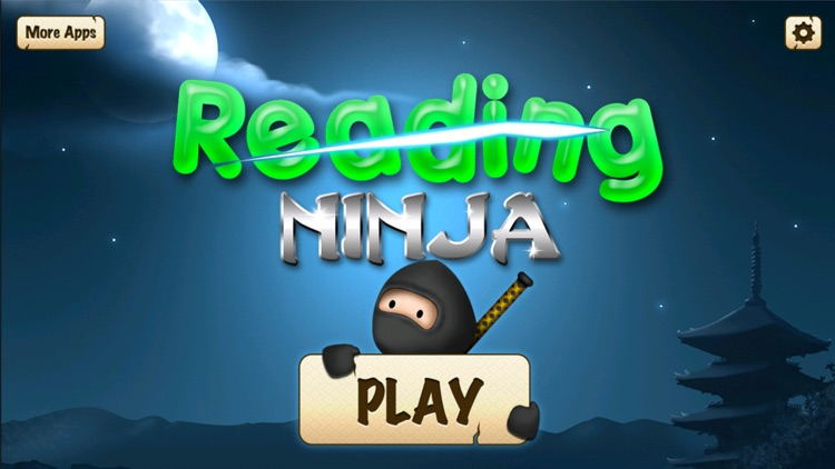 Reading Ninja - The Learn To Read Slicing Game