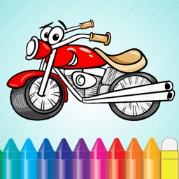 Vehicles & Car Coloring Book - Drawing for kids free games