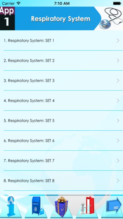 NCLEX Respiratory system 1100 Notes & Quiz screenshot-3