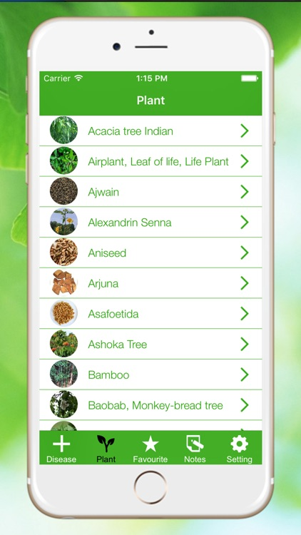 Medicinal Herbal Plants & Cures Herbs screenshot-0