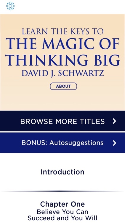 Magic Of Thinking Big Meditations David Schwartz