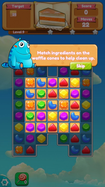 Cookie monster saga app image