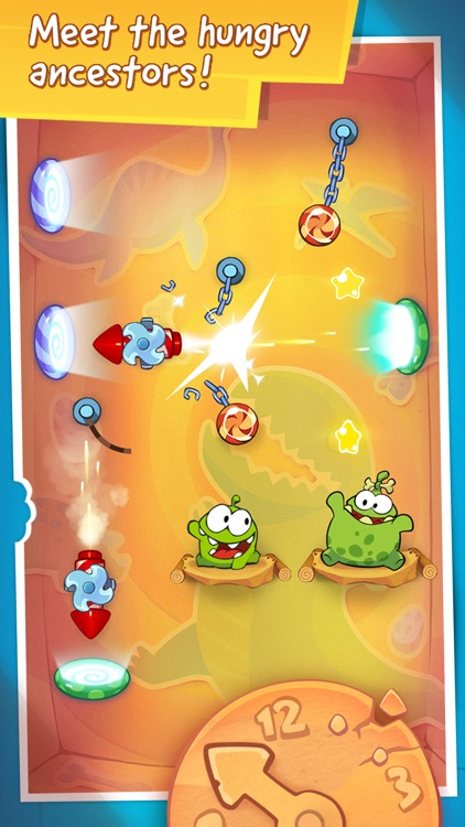 Cut the Rope: Time Travel screenshot-4