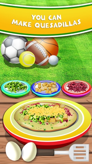 Sports party food maker salon fun lunch cooking candy making sports party food maker salon fun lunch cooking candy making games for kids on the app store forumfinder Choice Image