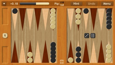 Backgammon NJ HD screenshot1