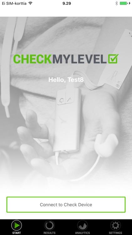 Checkmylevel