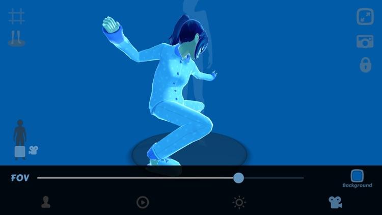 Anime Girl Pose 3D screenshot-4