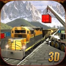 Real Cargo Bullet Train Driving 3D Simulator