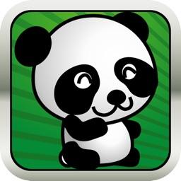 Baby Math Jungle Panda Legend Run and Jump Game