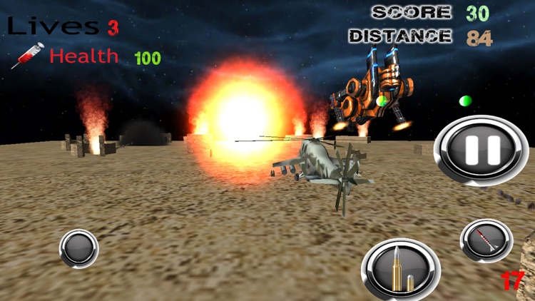 Airwolf Chopper Robot Rage - Iron Giant Super Bot Heli Attack 3D screenshot-3