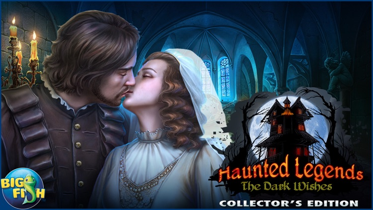 Haunted Legends: The Dark Wishes - A Hidden Object Mystery (Full) screenshot-4