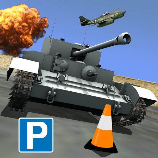 World War Tank Parking - Historical Battle Machine Real Assault Driving Simulator Game FREE