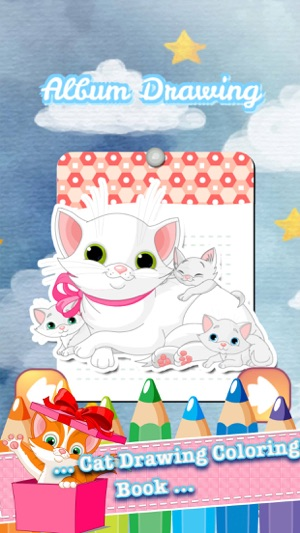 Cat Coloring Book Educational Games Third Grade On The App Store