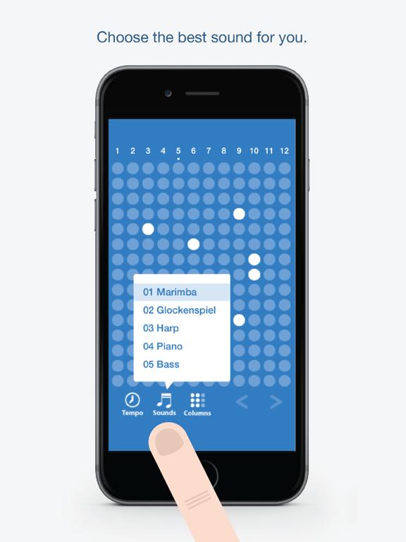 Ipad Screen Shot Tones - Fun and easy to use music creation app 1