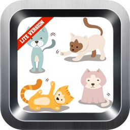 Learn English Via Cats & Kittens Names Games for Kids (lite)