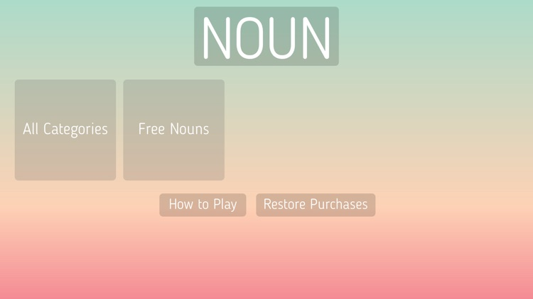 Noun Game screenshot-0