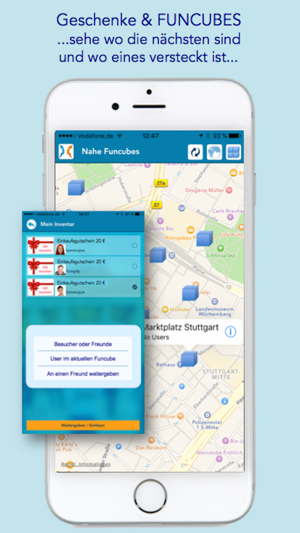 treffe lokale Freunde App